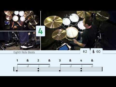 Eighth Note Drum Beats