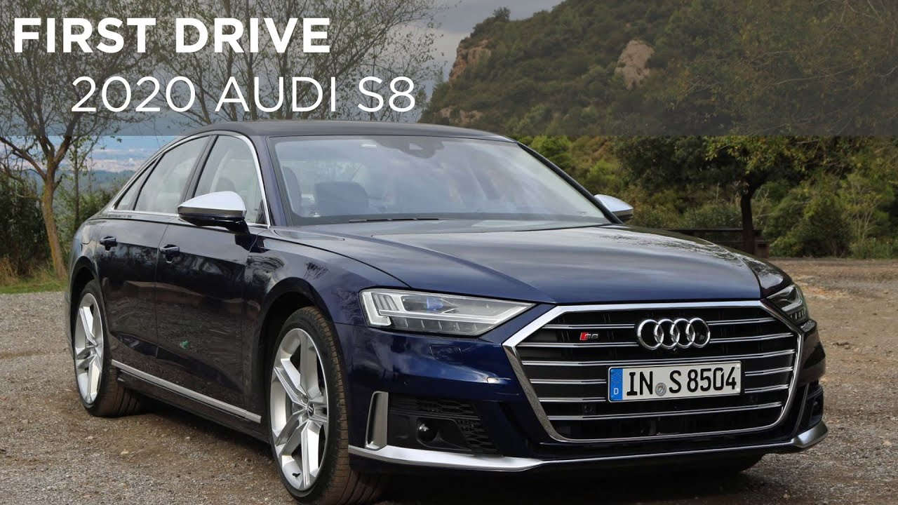 2020 Audi S8 First Drive Driving Ca Youtube