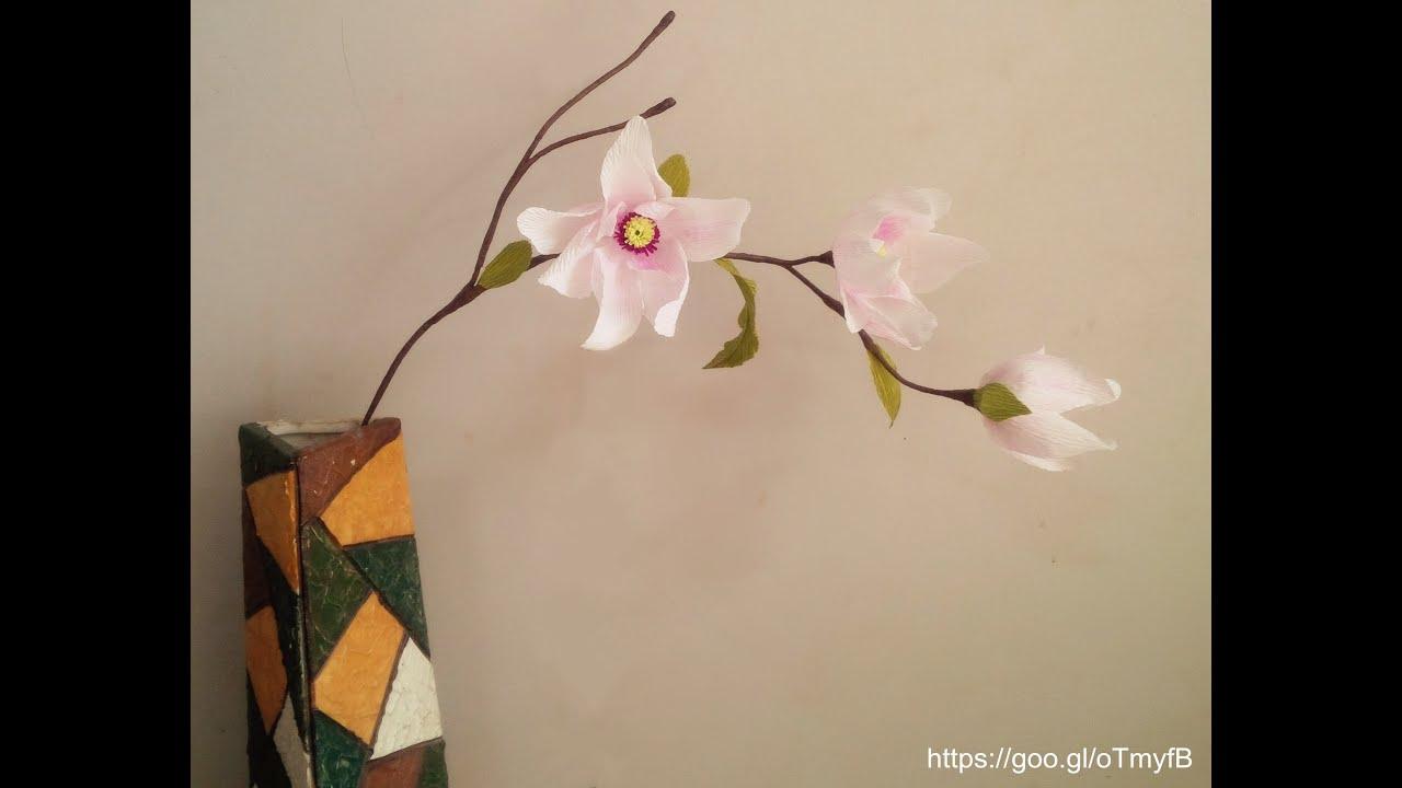 Paper Flower Tutorial Youtube Gallery Fresh Lotus Flowers