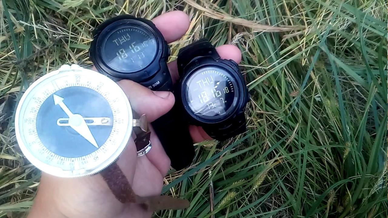 Заказать часы мужские с компасом popart