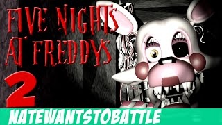 NateWantsToBattle: Mangled [LYRIC VIDEO] FNaF Song
