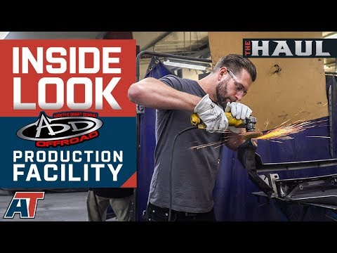 Inside Look At Addictive Desert Designs Ford F150 Parts Factory - The Haul