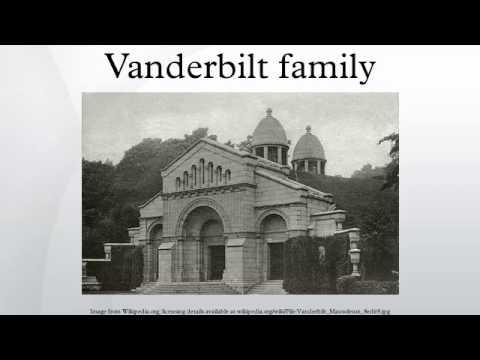 Vanderbilt family