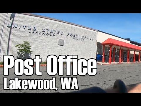 Lakewood WA Post Office 1st Visit