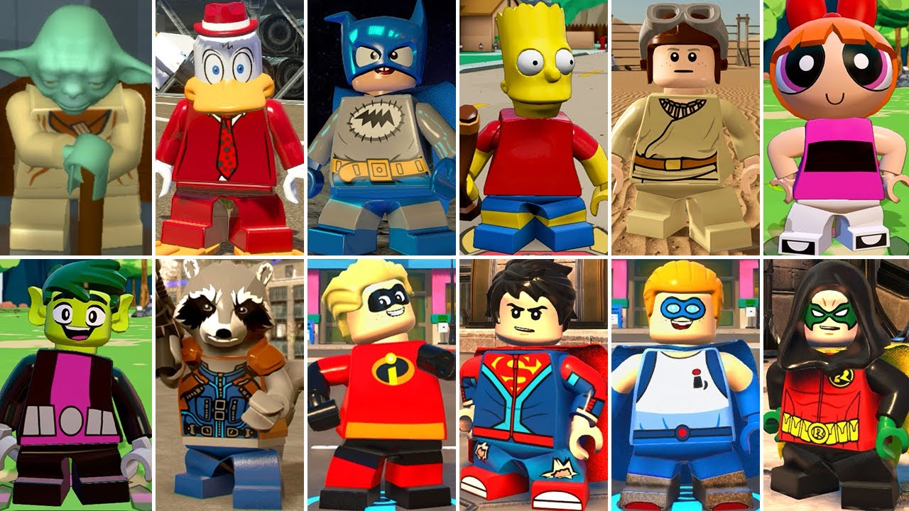 All Short Characters in LEGO Videogames
