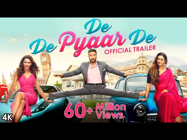 De De Pyaar De - Official Trailer   Ajay Devgn, Tabu, Rakul Preet Singh   Akiv Ali   17 May