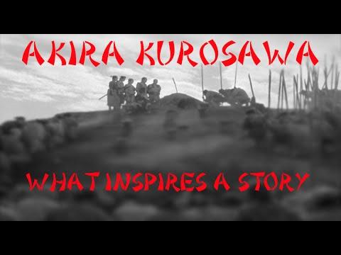 Akira Kurosawa - What Inspires A Story?