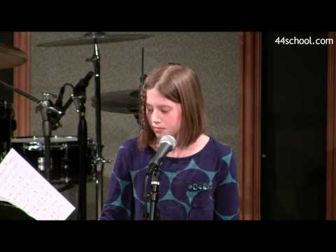 Kathryn S  44 School of Music  Seattle Concert  Spring 2014  Voice Lessons