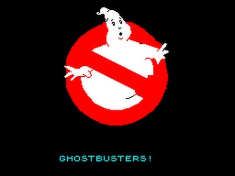 REVIEW OF GHOSTBUSTERS (SPECTRUM 48K, ACTIVISION, 1984)