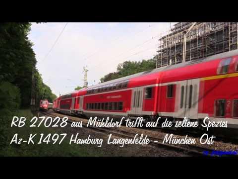 """Eisenbahn- """"Quickie"""" am Bahnhof München Ost: Nachtzüge/ Autoreisezug/ Güterverkehr u.v.m."""