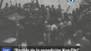 Partida de la expedición Kon-Tiki