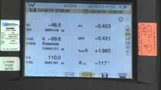 aemc operacin basica del analizador de calidad de energia 8335 parte 2 de 2