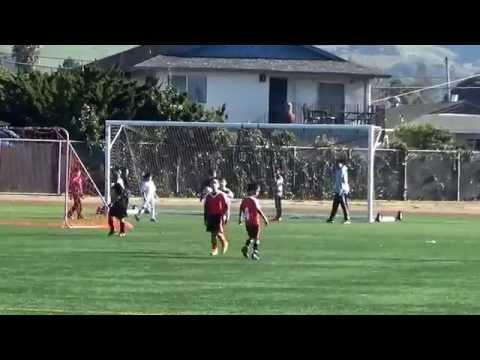 U9 Hayward United vs Mustangs pt 1 of 2 Jan 2015