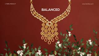 Gulnaaz By Tanishq - Inspired By Symmetry In Nature