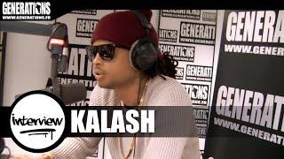 Kalash - ITW (Live des studios de Generations)
