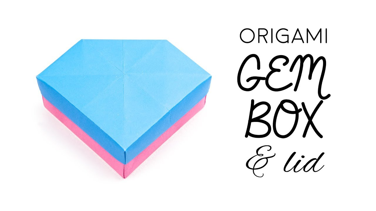 Origami Pull Out Drawers Instructions | Origami gift box, Origami ... | 720x1280