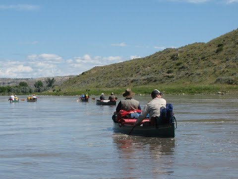 Missouri River Canoe Trip 2016