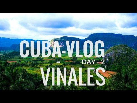 TRAVEL VLOG -- CUBA Day 2 [ VIÑALES = CIGARS & MOJITOS ]