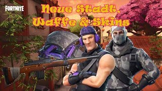 🔴 Fortnite Battle Royale #28 New City, Weapon & Skins Road to 25 Wins! [English]