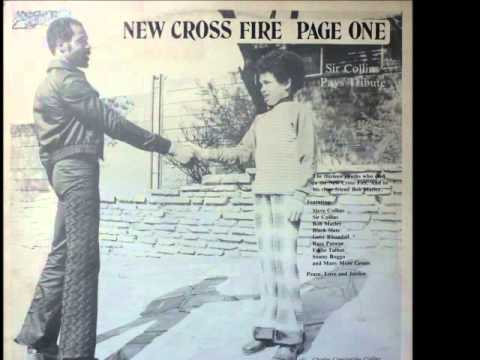 Sir Collins Pays Tribute - New Cross Fire - Sir Collins Music Wheel Records - 1981