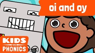 Oi and OY | Similar Sounds | Sounds Alike | How to Read | Made by Kids vs Phonics
