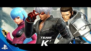 The King of Fighters XIV - Team K Trailer | PS4