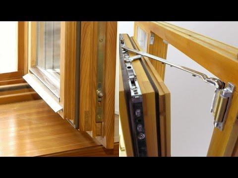 видео: Деревянные окна