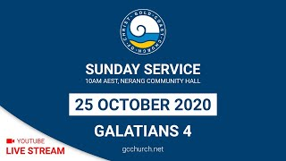 Live Stream - Sunday Service, 25 October 2020
