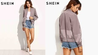 SHEIN Womens Long Sleeve Jacket Coat Outwear Review | Best Jackets For Women Fashion 2018