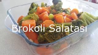 Brokoli Salatası Tarifi-Pratik Salata Tarifleri