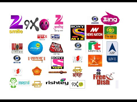 DD Free dish all channels (new added) list and available on hd TV as in january 2016