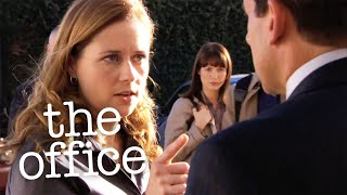 Pam Hits Michael  - The Office US
