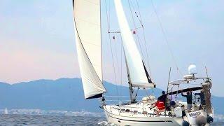 Обучение управлению парусной яхтой в Греции, Родос.