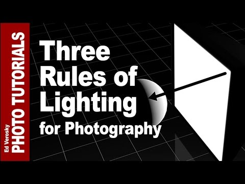 Three Rules of Lighting for Photography