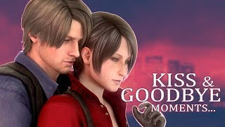 "LEON ♥ ADA - All  ""KISS & GOODBYE!"" Moments in Resident Evil 2 (1998-2019)"