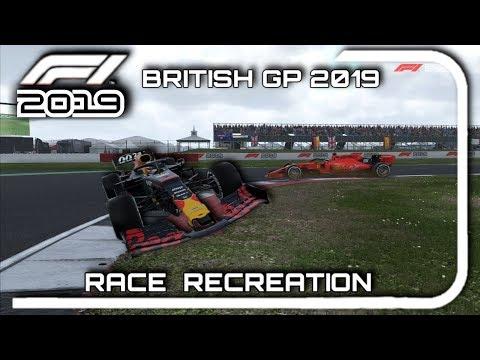 F1 2019 GAME: RECREATING THE 2019 BRITISH GP