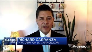New York City's schools chief Richard Carranza on partially opening in fall