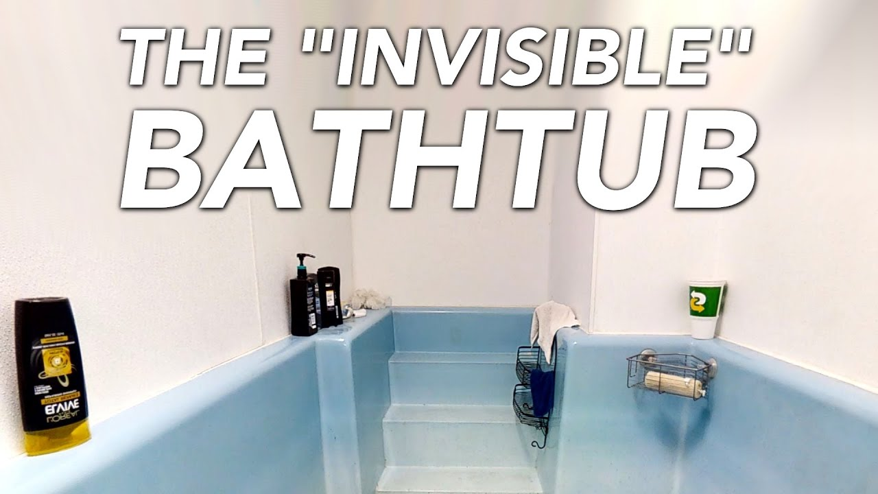 "The Viral ""Invisible Bathtub"" That Broke the Internet"