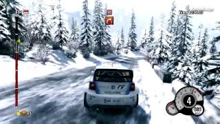 WRC 3 Rally Monte Carlo Volkswagen Polo R WRC Test Car