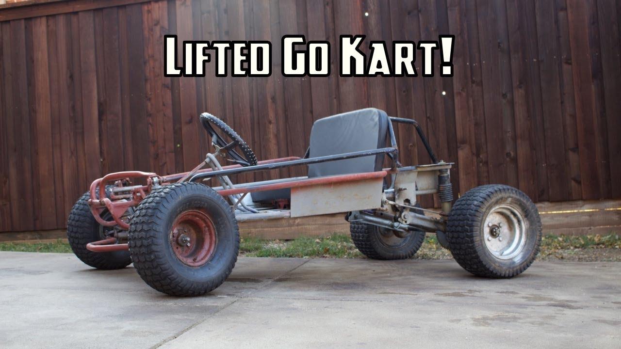 420cc Off-Road Go Kart Build Part 1!