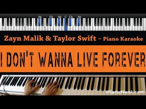 Zayn Malik & Taylor Swift - I Don't Wanna Live...
