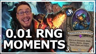 Hearthstone - Best of 0.01% RNG Moments | ft. Ben Brode