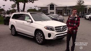2019 Mercedes-Benz G-Class GLS450 video tour with Spencer