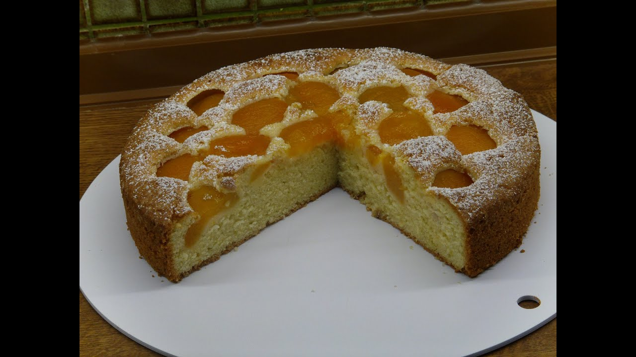 German Apricot Cake