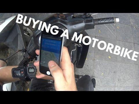 BUYING A MOTORBIKE IN VIETNAM
