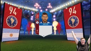 messi suarez neymar 2 icons in packs the best day of fifa 18 world cup mode ever