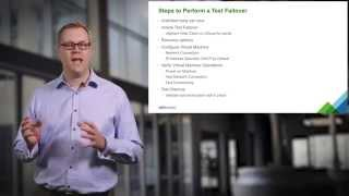 vCloud Air Disaster Recovery Tutorial 4: Performing a Test Failover