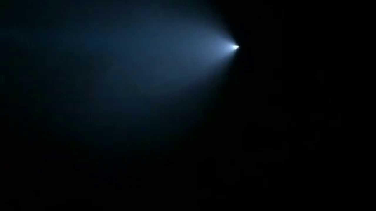 UFO? Giant blue light  California 7 nov 2015 Невероятное явление в небе над Юж Калифорнией