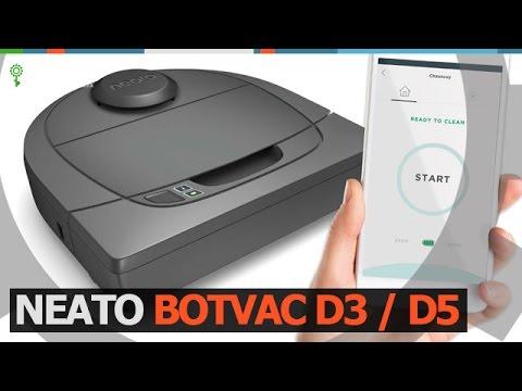 Neato Botvac D3 | D5 Connected / Робот пылесос (Robotics.ua)