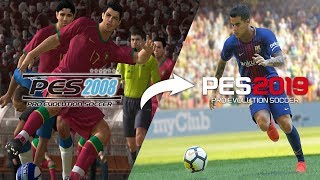 🔥 Every PES Trailer From PES 2008 - PES 2019 🔥